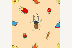 Background of the insects