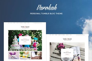 Varokah - Personal Tumblr Blog Theme