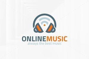 Online Music Logo Template