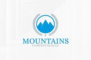Royal Mountains Logo Template