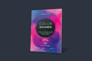 Minimal Colors Flyer Vol. 01
