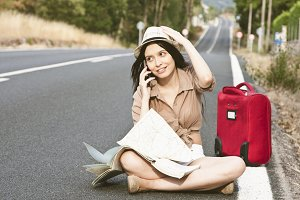 Travel woman