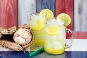 Baseball with Lemonade