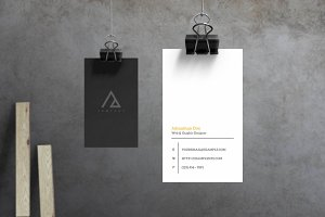 Triad - Business Card