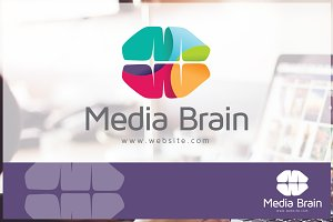 Media Brain Logo