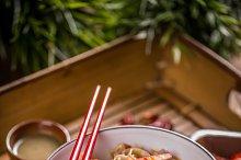 Delicious rice noodles