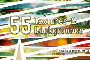 55 Textures and Backgrounds