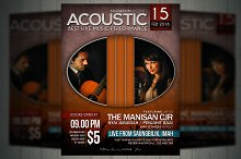 Acoutic Concert Flyer / Poster