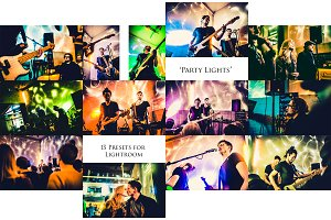 """Party Lights""- 13 presets for LR"