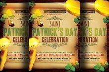Saint Patrick's Party Flyer