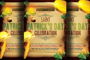 Saint Patrick's Party Flyer