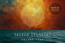 Sacred Geometry Vector Set Vol. 4