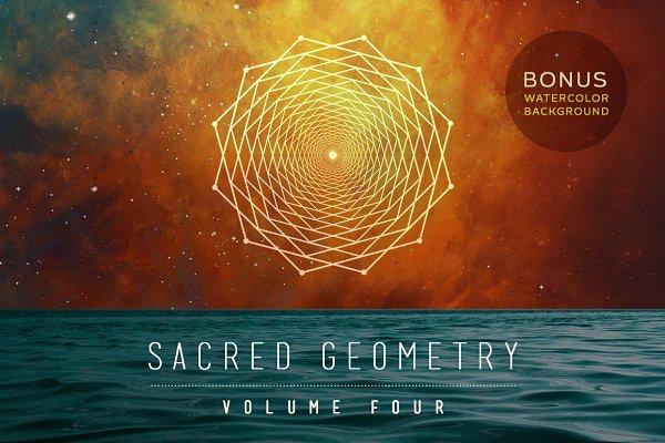 Sacred Geometry Vector Set Vol. 4