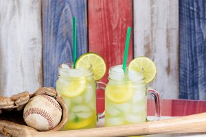 American Baseball and Lemonade