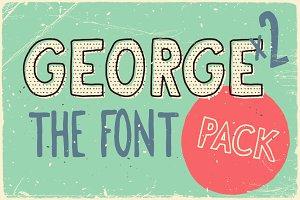 George & Francis Font Pack + bonus