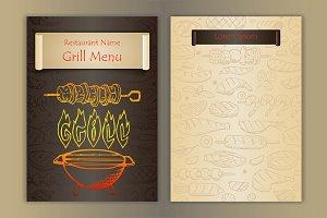 2 Grill-BBQ Menus