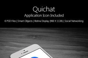 QuicChat App UI