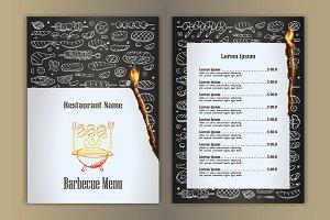 3 Fire Grill-BBQ Menus