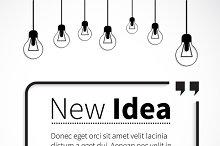 Phrase New Idea in Quotes