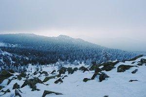 Ural Mountains Landscape