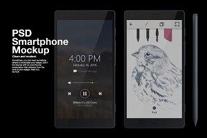 PSD Smartphone Mockup