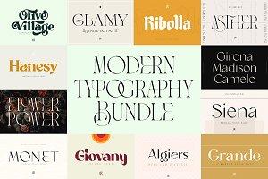 The Modern Typography Bundle