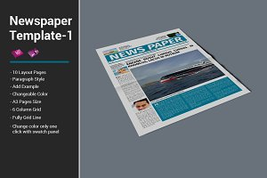 Newspaper Template - 1