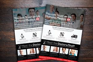 Medica Health Center Flyer Template