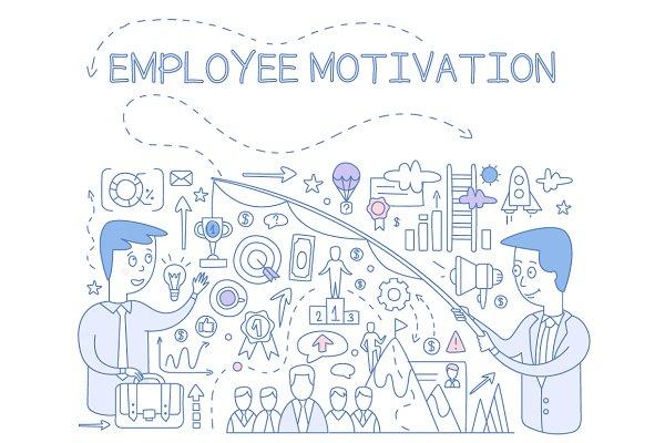 Employee Motivation Concept