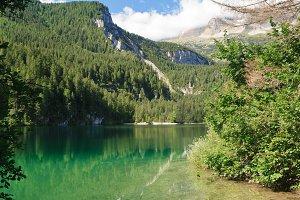 Lake Tovel, Trentino, Italy