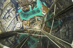 Dubai Fontane from above!