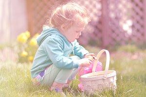 Girl with basket