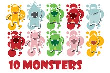 10 Monsters