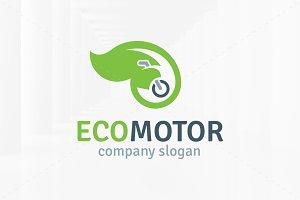 Eco Motor Logo Template