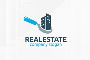 Real Estate Logo Template v2