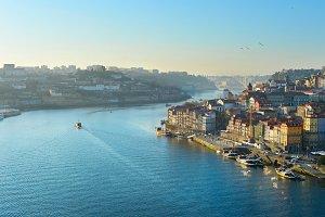Typical Porto scene, Portugal