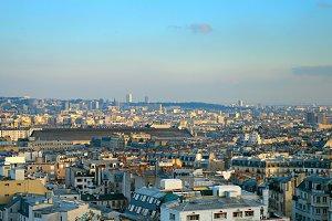 Paris overview, France
