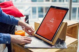 PSD Mockup iPad Pro Brainstorming