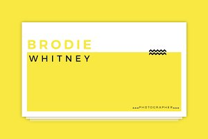 Brodie Whitney Business Card