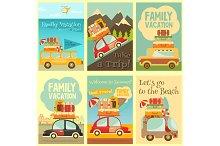 Travel Cards Set