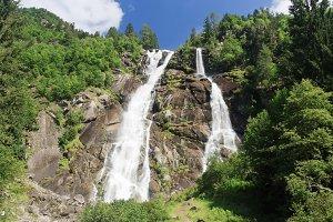 Nardis waterfalls, Trentino, Italy