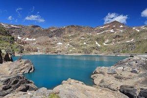 Careser lake, Trentino, Italy