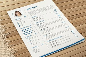 Simple CV-Resume and Cover Letter