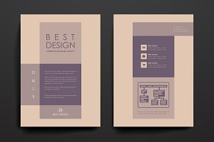 Simple brochures