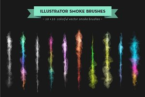 Illustrator Glow Brush Set