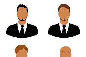 men, avatar, faces, icons, business