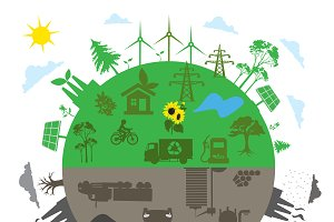 renewable energy, traditional