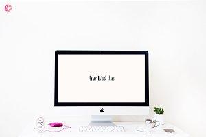 Styled iMac Desktop Mockup