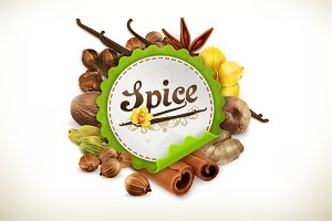 Spice vector label
