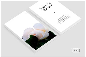 Rose Business Card Template